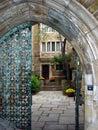 Gates yale Royaltyfri Bild