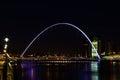 Gateshead Millennium Bridge Royalty Free Stock Photo