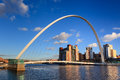 Gateshead Millennium Bridge Royalty Free Stock Photo