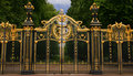 Gateway d'or Image libre de droits