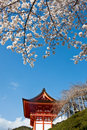Gateway of Kiyomizu Temple in Kyoto Japan. Royalty Free Stock Image