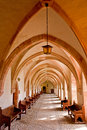 Gateway of Monastery Royalty Free Stock Images
