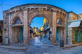 The gateway to the bazaar Royalty Free Stock Photo
