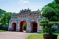 Gateway to the Forbidden City of Hue Royalty Free Stock Image