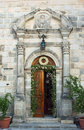 Gateway to monastery in Zakynthos island Royalty Free Stock Photography