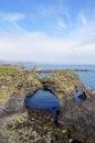 Gatklettur Stone Arch at Snaefellsnes Peninsula, Iceland