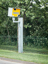 Gatso speed camera roadside seen in reading uk town april Stock Images