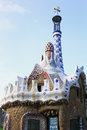 Gaudi art in barselona spain Royalty Free Stock Photo
