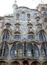Gaudi House Stock Photos