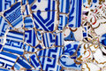 Gaudi Mosaic pattern Royalty Free Stock Photo