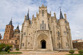 Gaudi palace in astorga leon spain Royalty Free Stock Photo