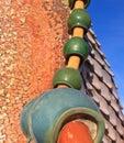 Gaudi Tiles Stock Photo