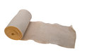 Gauze bandage to date the bad and the beautiful Royalty Free Stock Photography