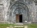 Gavit entrance haghpat monastery the adjoins the west end of st n shan church at and was begun in on the ruins of a previous Stock Photos