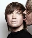 Gay love Royalty Free Stock Photo