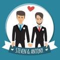 Gay people wedding