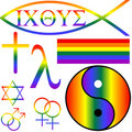 Gay symbols Stock Images