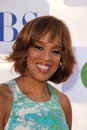 Gayle king at the cbs showtime and cw party tca summer tour party beverly hilton beverly hills ca Royalty Free Stock Photography