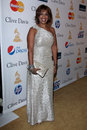 Gayle king los angeles feb arrives at the pre grammy gala and salute to industry icons at beverly hilton hotel on february in Stock Photos