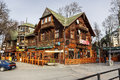 Gazdowo kuznia in historic building in zakopane november restaurant the of former pod giewontem hotel launched by romuald kulig Stock Image