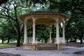 Gazebo at Battery Park, Charleston, SC. Royalty Free Stock Photo