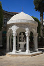 Gazebo Dome building in Agia Napa Greek Orthodox Cathedral Royalty Free Stock Photo