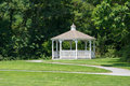 Gazebo a in a garden setting Royalty Free Stock Photo