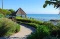Gazebo at Heisler Park, Laguna Beach, California Royalty Free Stock Photo