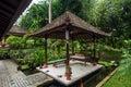 Gazebo outdoor clean garden Royalty Free Stock Photo