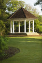 Gazebo in Park Stock Photos