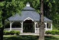 Gazebo in the Park Stock Photo