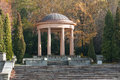 Gazebo in the park autumn Stock Photography