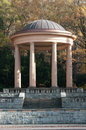 Gazebo in the park autumn Royalty Free Stock Photo