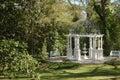 Gazebo in park or garden Royalty Free Stock Photo