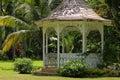 Gazebo in Shaw Park Botanical Gardens Royalty Free Stock Photo