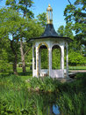 Gazebo at tradgardsforeningen linkoping sweden a the park Royalty Free Stock Photography