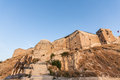 Gaziantep fort in turkey or antep is a major city southeastern anatolia the city lies only a few kilometers from the border with Royalty Free Stock Photo