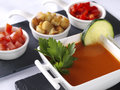 Gazpacho Andaluz Royalty Free Stock Photos