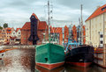 Gdansk. Central City Quay. Royalty Free Stock Photo