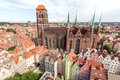 Gdansk city in Poland Royalty Free Stock Photo