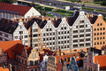 Gdansk Granaries Royalty Free Stock Photography
