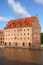 Gdansk granary Stock Images
