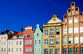 Gdansk Old town Stock Image