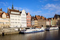 Gdansk Old Town in Poland Royalty Free Stock Image