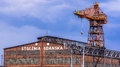 Gdansk Shipyard Royalty Free Stock Photos