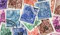 Gdr stamps Royalty Free Stock Image