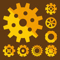 Gear or Cog Icon Vector Illustration