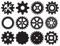 Gear collection machine gear Royalty Free Stock Photo
