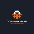 Gear Letter A Logo