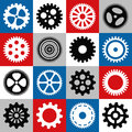Gear mosaic Royalty Free Stock Photo